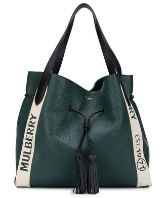 Mulberry Millie logo tote bag