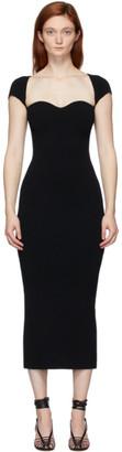 KHAITE Black Allegra Dress
