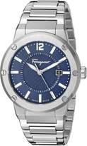 Salvatore Ferragamo Men's FIF030015 F-80 Analog Display Quartz Watch