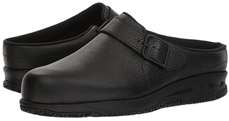 Sas SAS Clog-Slip Resistant (Black) Women's Slip on Shoes