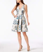 Xscape Evenings Brocade Fit & Flare Dress