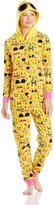 Briefly Stated Women's Emoji Union Suit