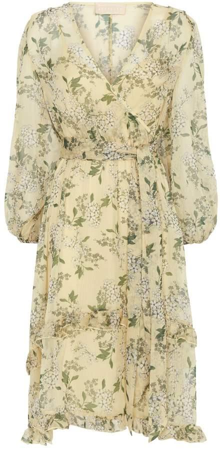 Keepsake The Label Luscious Floral Print Midi Dress