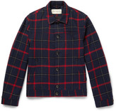 Oliver Spencer - Buffalo Plaid Wool-blend Jacket