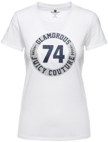 Juicy Couture Logo Glam Ring Short Sleeve Tee