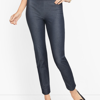 Talbots Chatham Ankle Pants - Polished Denim - Curvy Fit