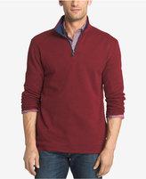 Izod Men's Quarter-Zip Textured Sweatshirt