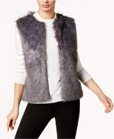 INC International Concepts I.N.C. Knit and Faux Fur Vest, Created for Macy's