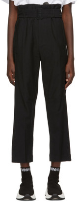 MM6 MAISON MARGIELA Black Belted Trousers