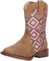 Roper Western Boots Girl Glitter Faux 09-018-1901-1524 TA