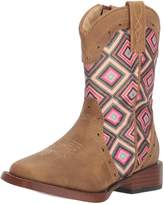 Roper Western Boots Girl Glitter Faux 13 Child 09-018-1901-1524 TA