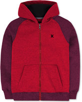 Hurley Getaway Raglan Zip-Up Hoodie, Big Boys (8-20)