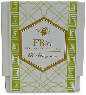 Green Fretwork Candle - Hydrangea - The French Bee