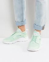 Nike Huarache Run Ultra Sneakers In Green 819685-302