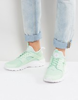 Nike Huarache Run Ultra Trainers In Green 819685-302