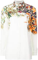Etro floral and foliage print shirt