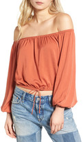 The Fifth Label The Nightingale Off the Shoulder Top