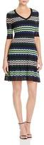 M Missoni Zigzag Stripe A-Line Dress