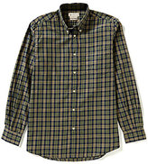 Beretta Non-Iron Drip Dry Long-Sleeve Checked Woven Shirt