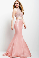 Jovani 35328 Two-Piece Embellished Mermaid Gown