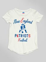 Junk Food Clothing Kids Girls Nfl New England Patriots Tee-sugar-xxl