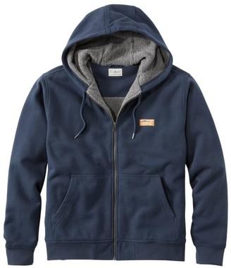 L.L. Bean Men's Katahdin Iron Works Hooded Sweatshirt, Fleece-Lined