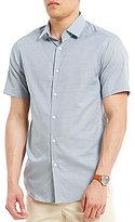 Hart Schaffner Marx Dobby Short-Sleeve Shirt