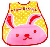 Panda Superstore Waterproof Adjustable Baby Bibs for Baby , 45*28cm, Cute Rabbit