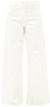 Nili Lotan Megan Wide-leg Jeans - Cream
