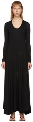 Totême Black Tavira Dress