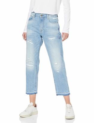 G Star Women's 3301 Rp Mid Boyfriend 7/8 Wmn Jeans
