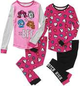 Monster High Girls' Piece cotton sleepwear pajamas set