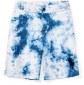Ralph Lauren Tie-Dye-Print Swim Trunk