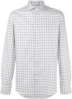 Canali checked shirt - men - Cotton - 38