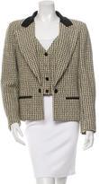 Chanel Tweed Layered Blazer