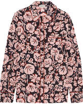 Kenzo Printed Silk Crepe De Chine Shirt - Pink