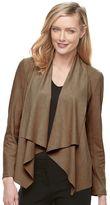 Dana Buchman Women's Faux-Suede Jacket