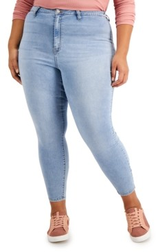 Dollhouse Trendy Plus Size High-Rise Skinny Jeans