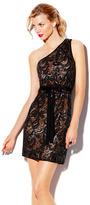 Vince Camuto One Shoulder Sequin Dress