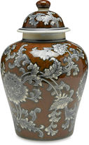 AA Importing 10 Florent Ginger Jar, Brown/Gray
