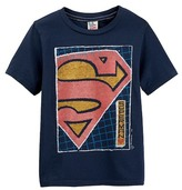 Junk Food Clothing Superman Short Sleeve Tee (Toddler Boys)