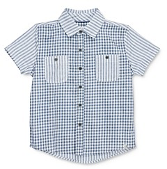 Sovereign Code Boys' Kriss Mixed Print Camp Shirt - Little Kid Big Kid
