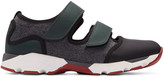 Marni Multicolor Felted Sneakers