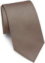 Brioni Men's Wave & Dot Silk Tie