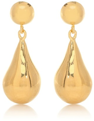 Sophie Buhai Exclusive to Mytheresa a Small Tear Drop 18kt gold-plated sterling silver earrings