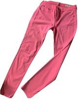 Rag & Bone Pink Cotton Jeans for Women
