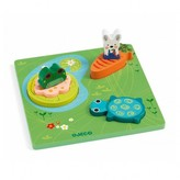 Djeco 1,2,3 Froggy 3D puzzle