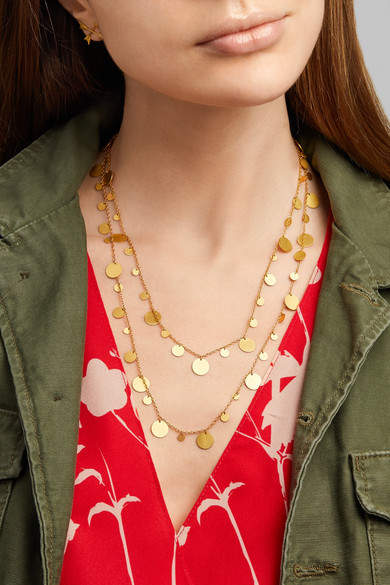 Marie Helene De Taillac Marie-Hélène de Taillac - 22-karat Gold Necklace