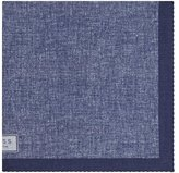 Reiss Walsh Printed Linen Pocket Square