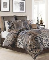 Croscill Ryland Blue Queen Comforter Set